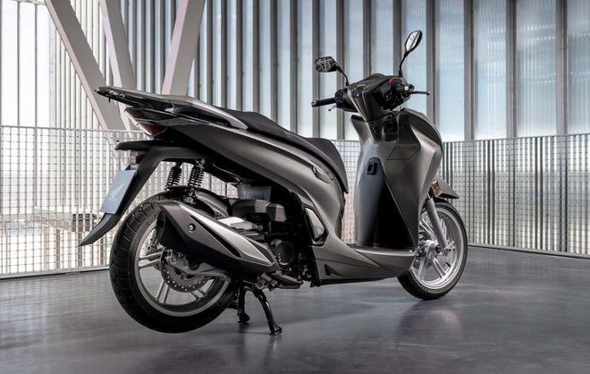 Honda SH350i nhập từ Ý rục rịch về Việt Nam - ảnh 1