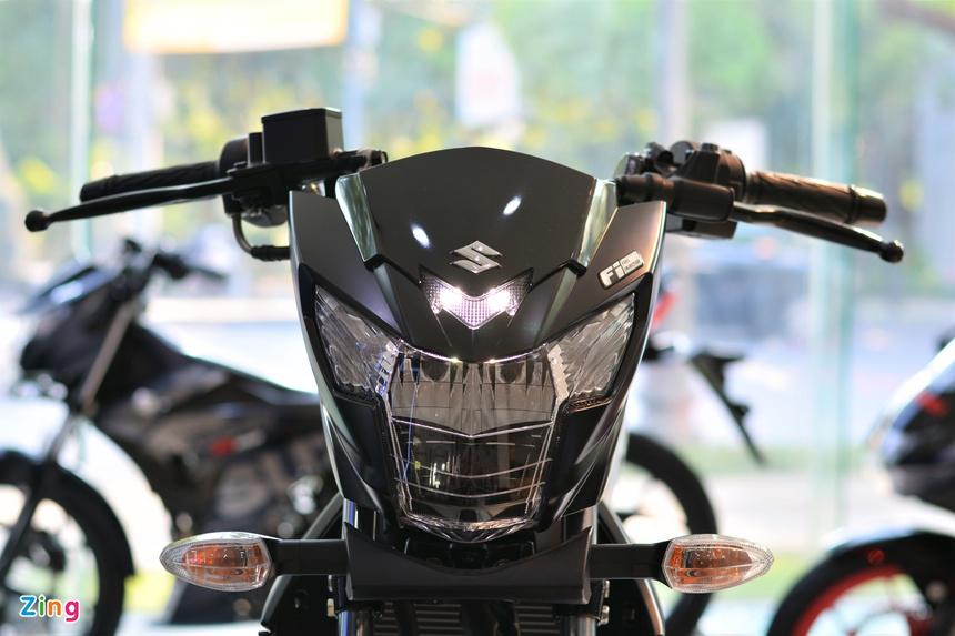 phan biet Suzuki Satria F150 chinh hang va nhap khau tu nhan anh 1