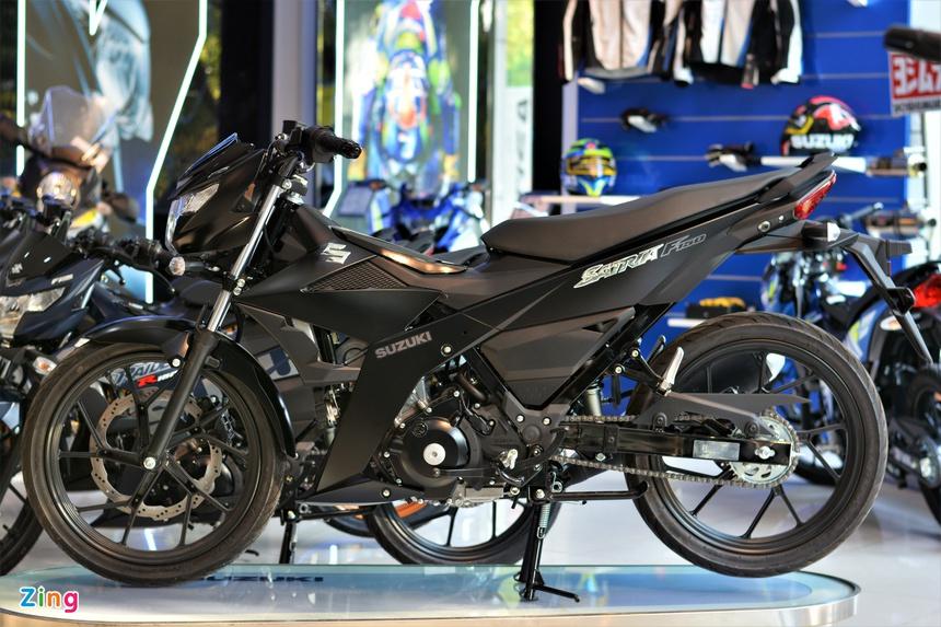 phan biet Suzuki Satria F150 chinh hang va nhap khau tu nhan anh 3