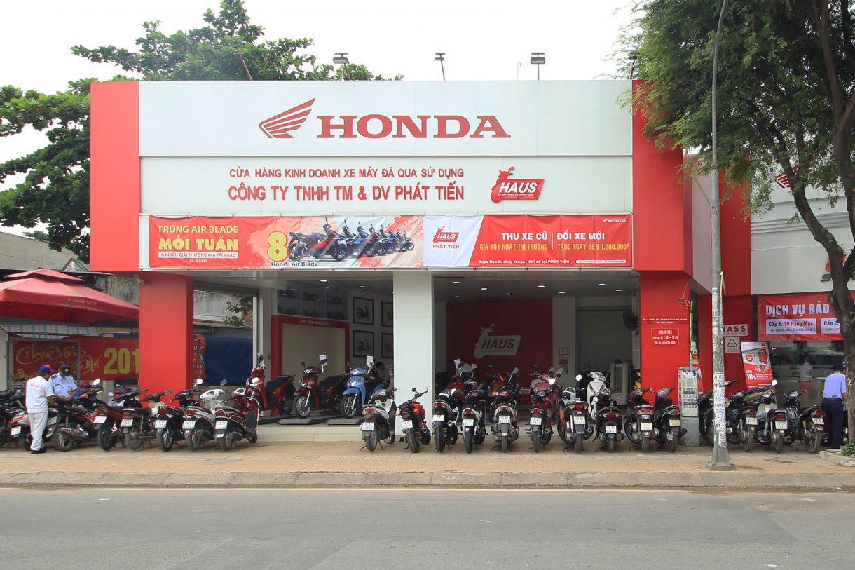 HAUS PHÁT TIẾN - Honda Phát Tiến - Ôtô - Môtô - Xe Máy