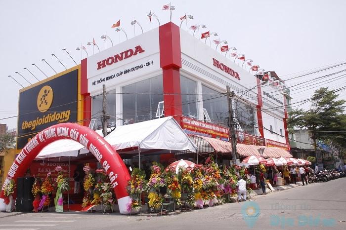 Head Honda Giáp Bình Dương KCN Đồng An - Thuận An