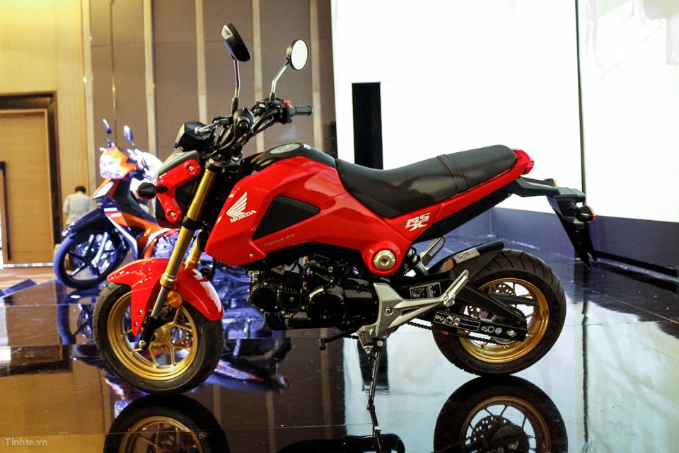 giá xe MSX 125 nhập Thái Lan