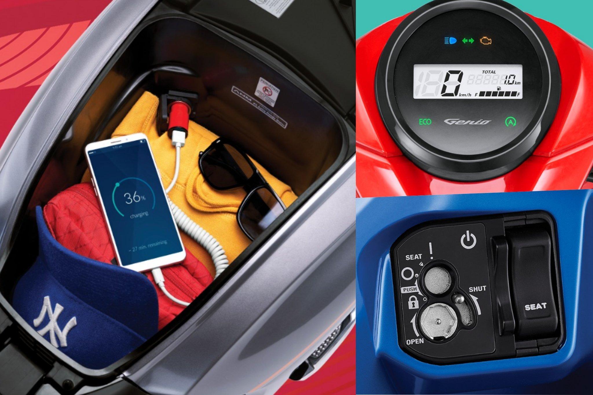 Đánh giá Honda Genio 2020 2021