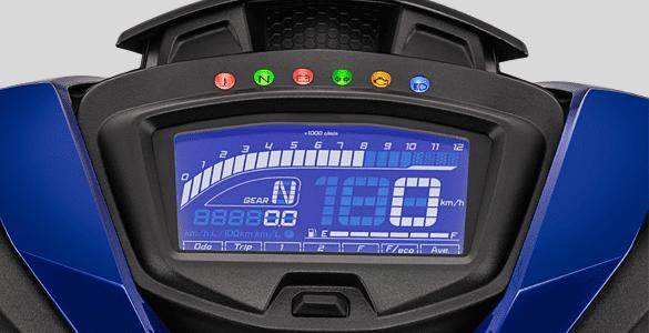 Đồng hồ tốc độ Full LCD thiết kế mới