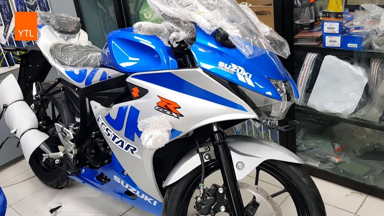 Suzuki GSX-R 150 - New Colors Special Series 2021 - YouTube