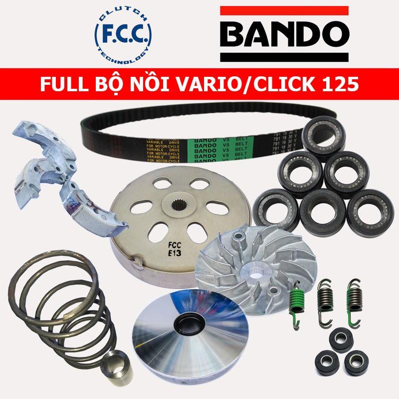 Full Bộ Nồi Trước Và Sau Honda Vario/Click 125