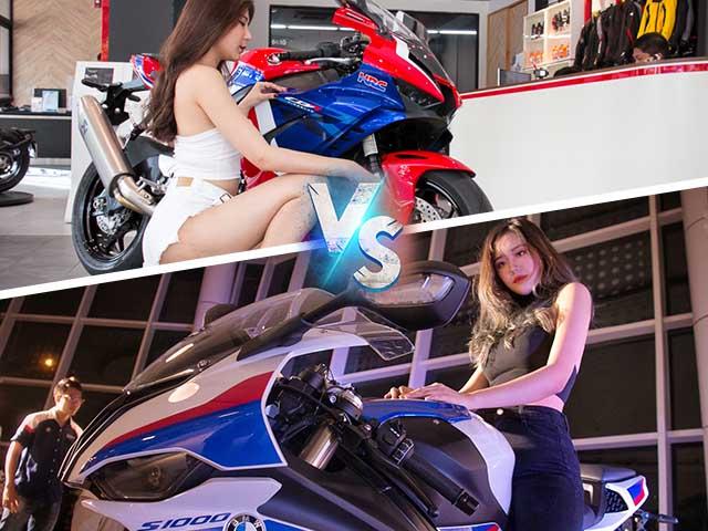 Honda CBR1000RR-R và BMW S 1000 RR