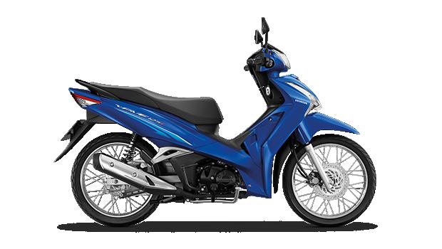 Xe Wave 125 Thái màu xanh