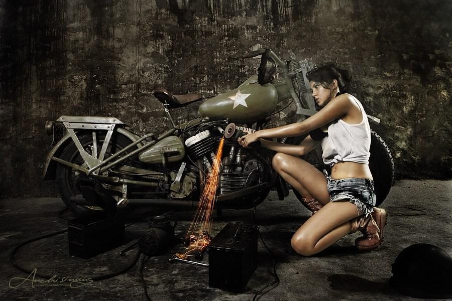 độ pô xe máy