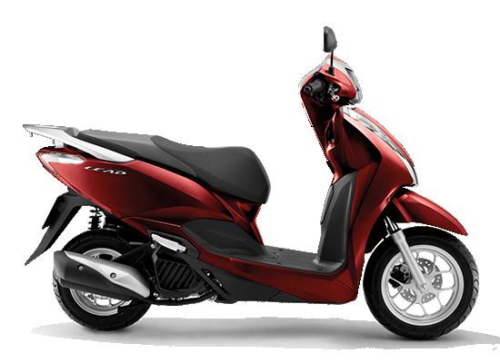 giá xe Honda Lead 2021 đỏ đen