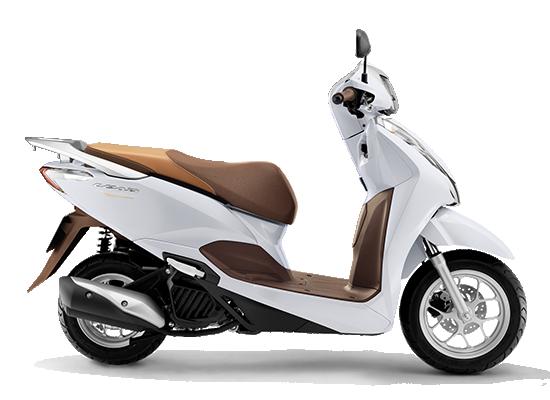 giá xe Honda Lead 2021 trắng nâu